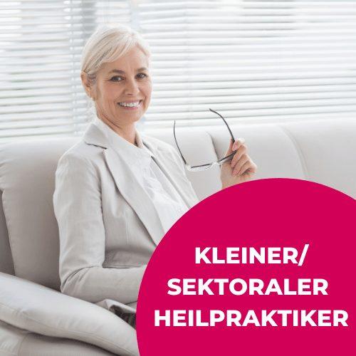 Kleiner/Sektoraler Heilpraktiker